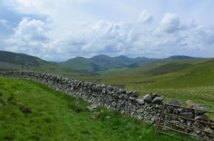 The Pentland Hills, with Wall